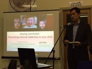 Hu Kim le - presenting