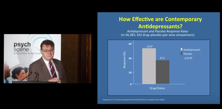 How Effective Are Contemporary Antidepressants? – Prof Malcolm Hopwood