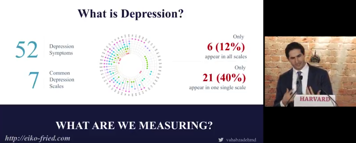 The Digital Conceptualisation of Depression – Dr Arshya Vahabzadeh