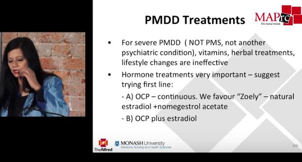 Hormones and Psychiatric illness in Women