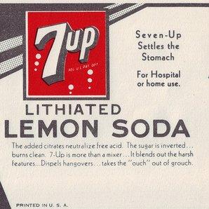 7 up containing Lithium