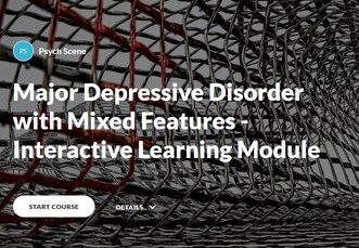 MDD with mixed features - interactive learning tool
