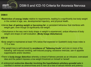 DSM-5 and ICD-10