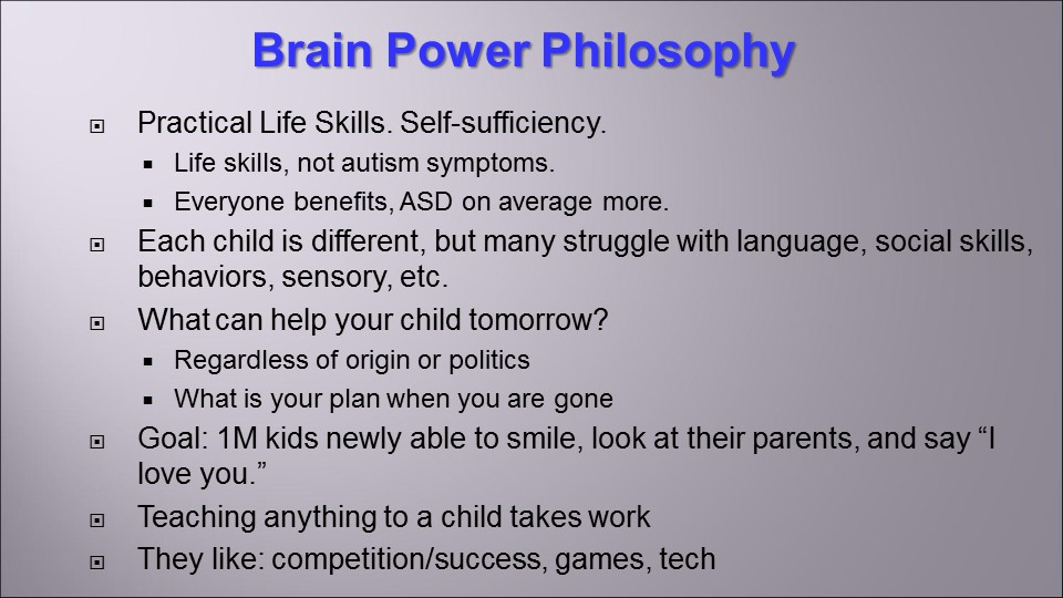 Brain Power Philosophy