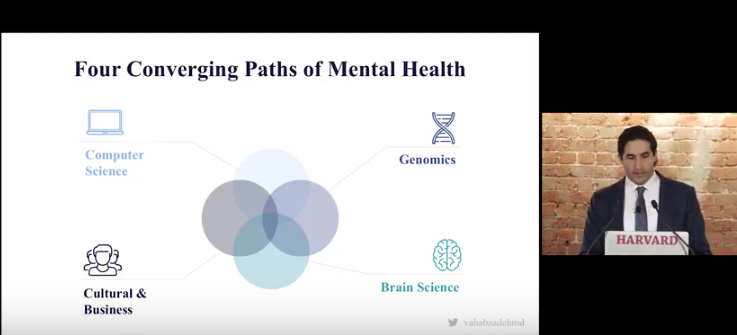 Technology and The Converging Paths of Mental Health – Dr Arshya Vahabzadeh
