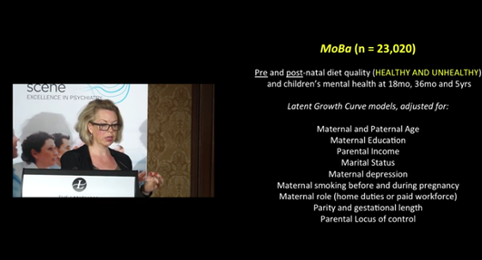 Impact of Nutritional Deficiencies in the Pre and Post Natal Period on Child Brain Development – Prof Jacka
