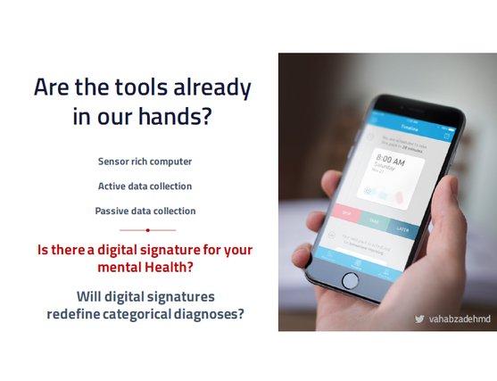 A digital Signature for Mental Health