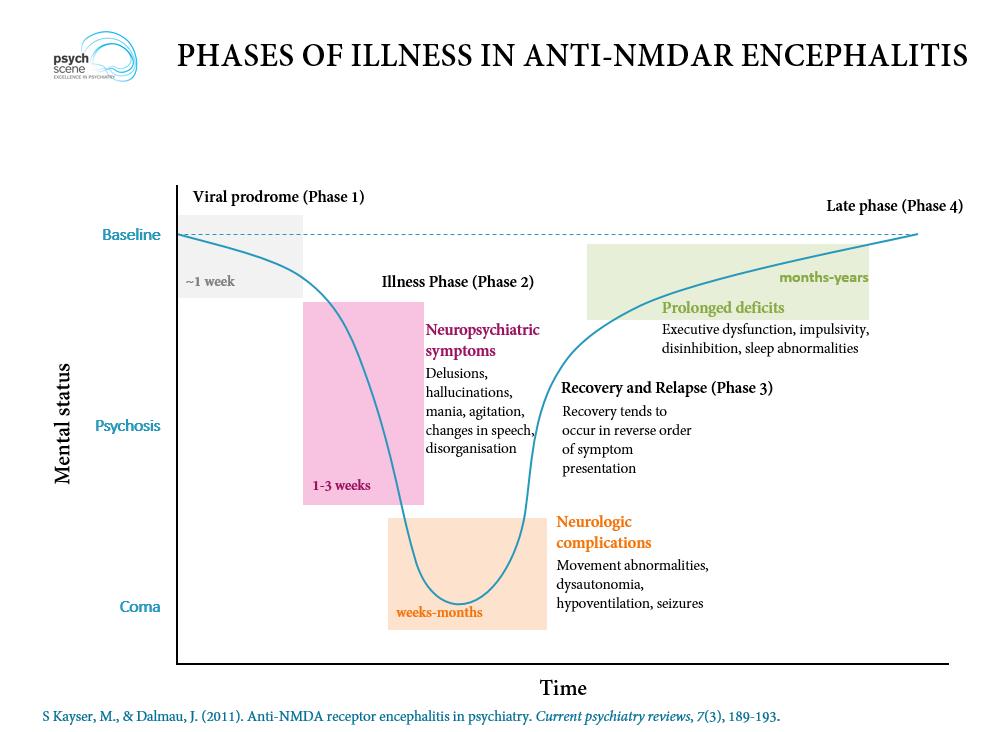 Anti N Methyl D Aspartate Anti Nmda Receptor Encephalitis A