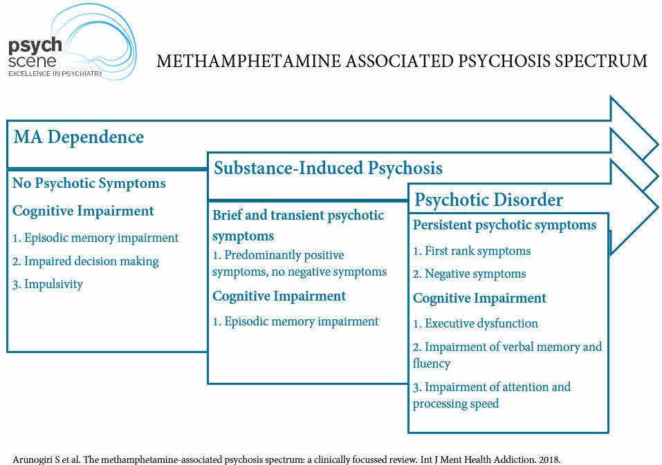 Methamphetamine Associated Psychosis Map The Clinical Spectrum