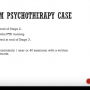 Setting the Scene for the Psychotherapy  Case ( RANZCP ) by Dr Neil Jayasingam